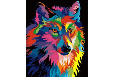 Schilderen op nummer | Kleurrijke schilderijen maken - keuze uit 17 dieren #8
