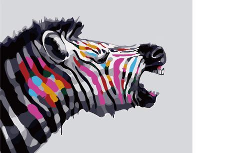 Schilderen op nummer | Kleurrijke schilderijen maken - keuze uit 17 dieren #2