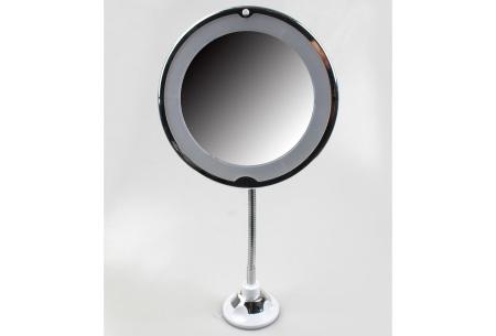 Make-up spiegel met verlichting | Scheerspiegel met vergroting