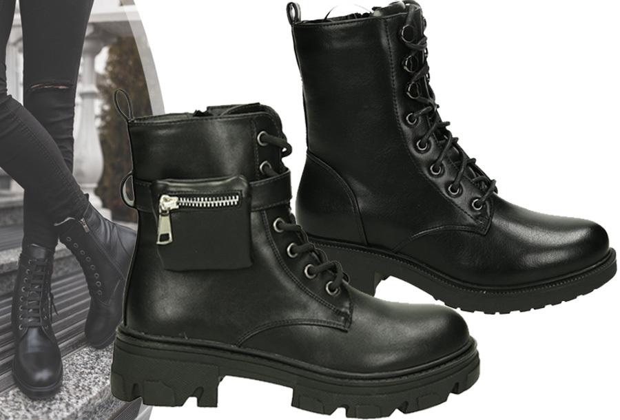 Stoere biker boots voor dames met 50% korting