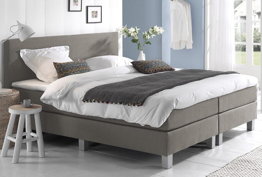 Dreamhouse Comfort 2.0 boxspring 180 x 200 cm - Beige + montage