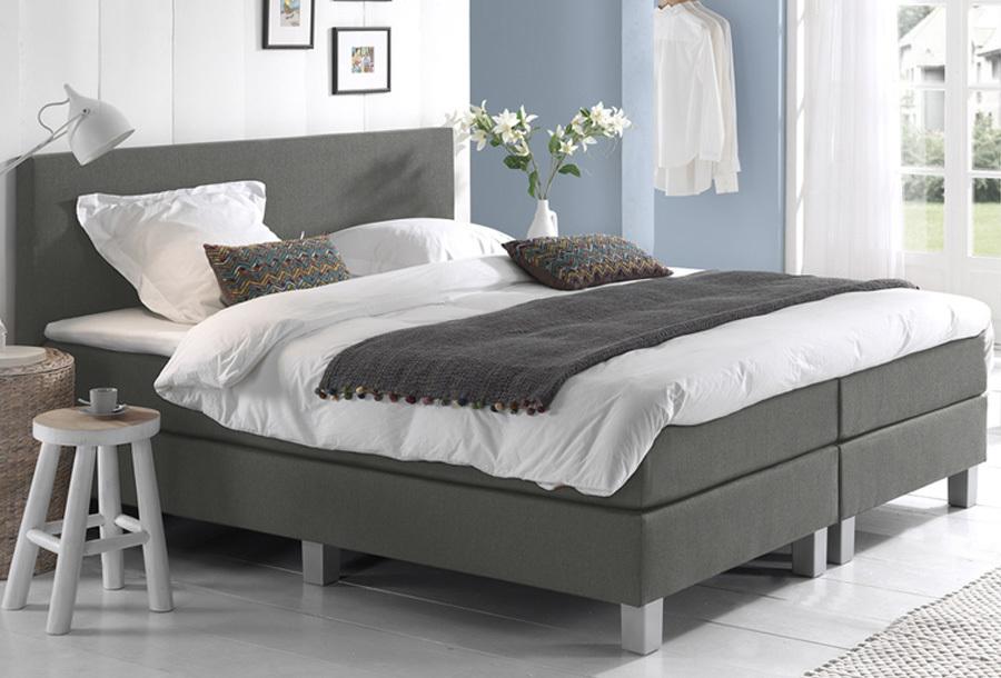 Dreamhouse Comfort 2.0 boxspring 140 x 200 cm - Grijs