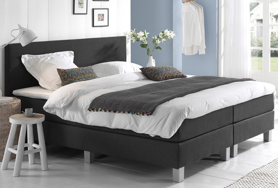 Dreamhouse Comfort 2.0 boxspring 160 x 200 cm - Leather look