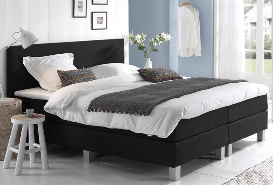 Dreamhouse Comfort 2.0 boxspring 140 x 200 cm - Zwart