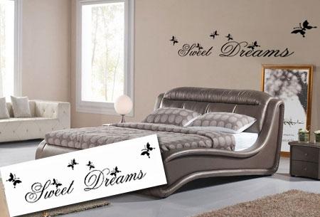 sweet dreams muursticker twv �4995 nu �795