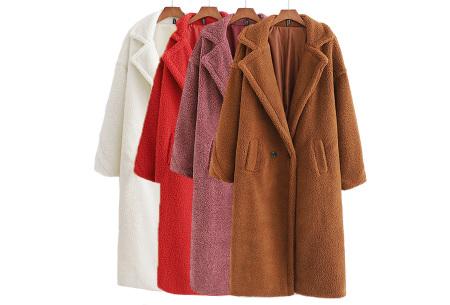 Superzachte teddy winterjas voor dames | Trendy teddy coat in 8 verschillende kleuren