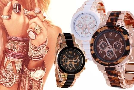 Exclusief rosékleurig horloge t.w.v. €49,95 nu €7,95!