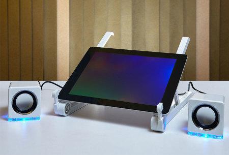 Compacte laptopstandaard | Eenvoudig in te klappen en verstellen!