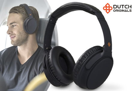 Noise cancelling koptelefoon | Bluetooth headset van Dutch Originals