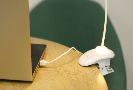 Flexibele bureaulamp met klem | Ook perfect als Diamond painting lamp