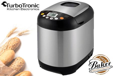 TurboTronic broodbakmachine | Gemakkelijk zelf brood bakken!