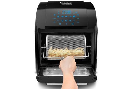Multifunctionele airfryer van TurboTronic | Hetelucht friteuse voor patat tot gedroogd fruit!