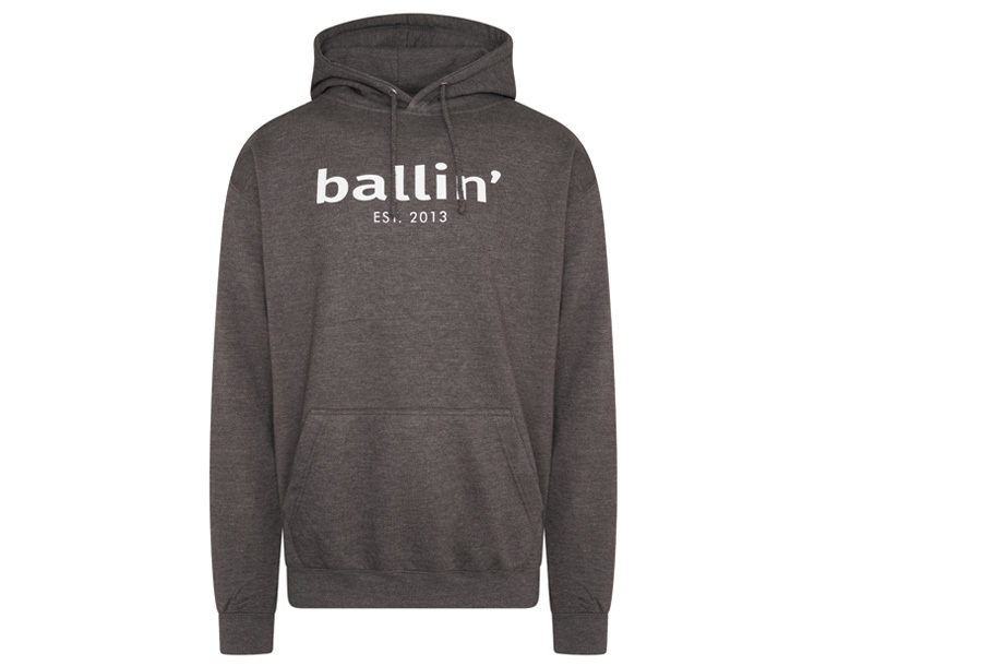Ballin Est. 2013 heren hoodie Maat 2XL - Antraciet