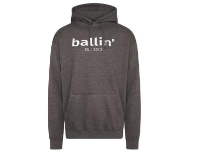 Ballin Est.2013 hoodie voor heren | Hippe sweater met capuchon nu in de sale Antraciet