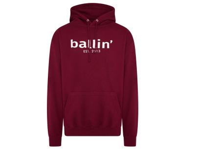 Ballin Est.2013 hoodie voor heren | Hippe sweater met capuchon nu in de sale Burgundy