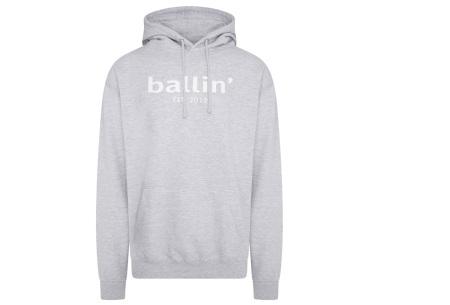 Ballin Est.2013 hoodie voor heren | Hippe sweater met capuchon nu in de sale Grijs