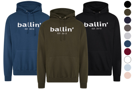 Ballin Est.2013 hoodie voor heren | Hippe sweater met capuchon nu in de sale
