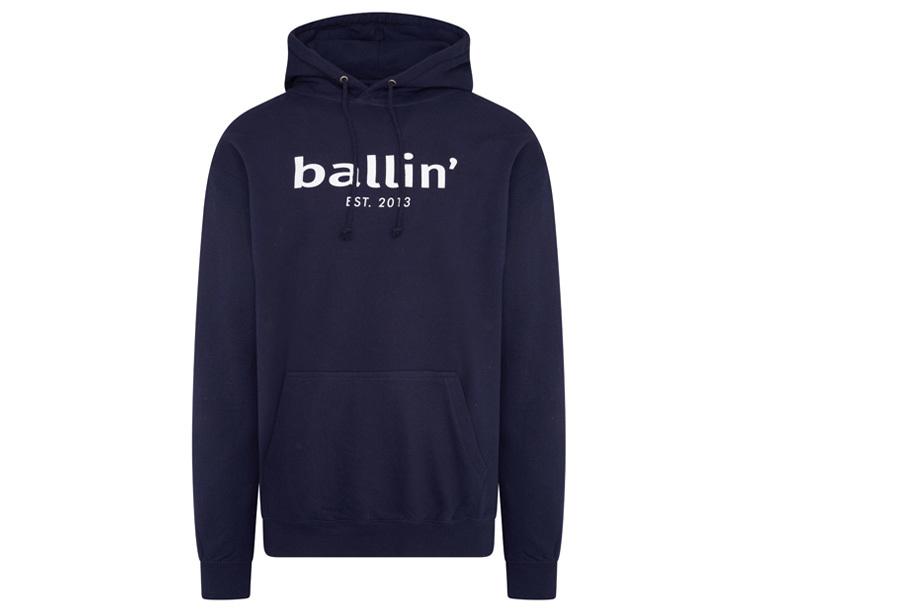 Ballin Est. 2013 heren hoodie Maat 3XL - Navy