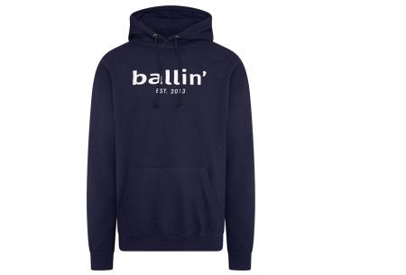 Ballin Est.2013 hoodie voor heren | Hippe sweater met capuchon nu in de sale Navy