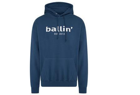 Ballin Est.2013 hoodie voor heren | Hippe sweater met capuchon nu in de sale Petrol