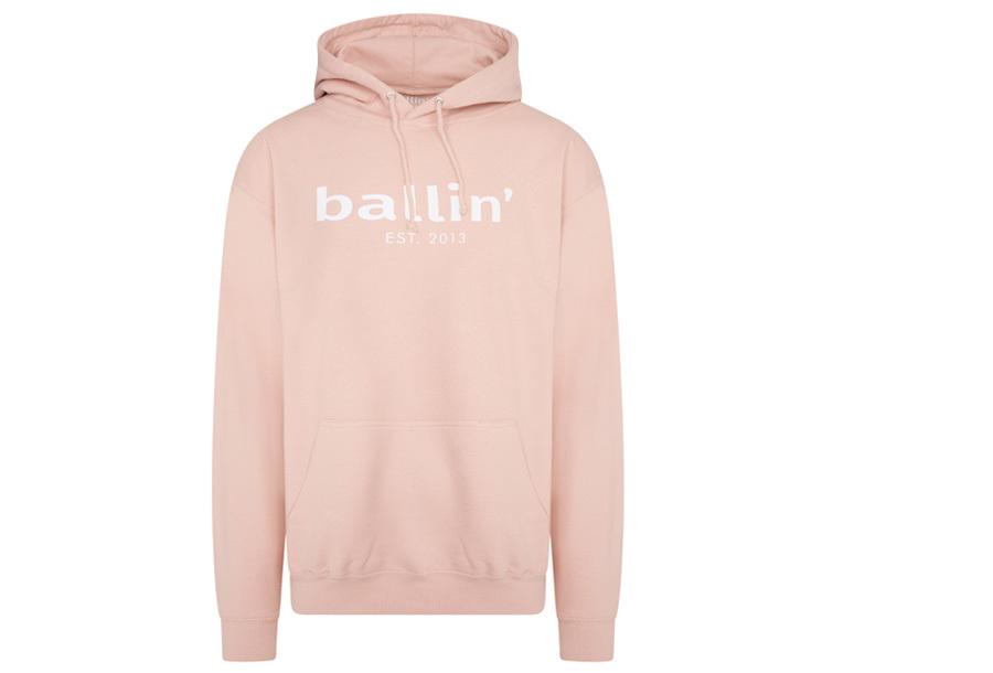Ballin Est. 2013 heren hoodie Maat L - Roze