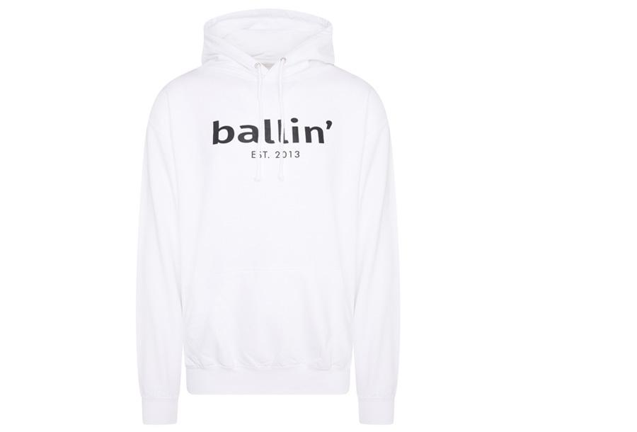 Ballin Est. 2013 heren hoodie Maat 2XL - Wit
