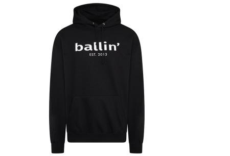 Ballin Est.2013 hoodie voor heren | Hippe sweater met capuchon nu in de sale Zwart