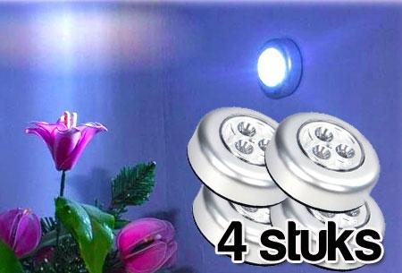 Zelfklevende Led Lampen : Zelfklevende led spots stuks t w v u ac nu slechts u ac