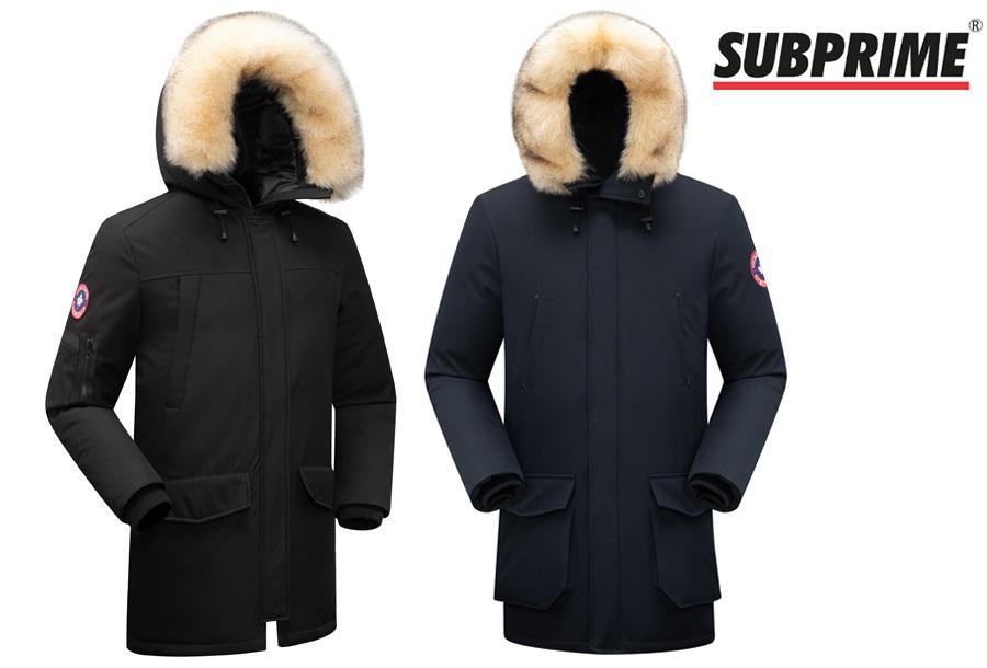 Goedkope winterjas voor heren in de aanbieding