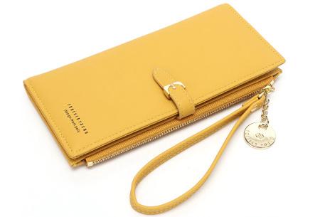 Portemonnee met telefoonvak | Dames portemonnee en telefoontasje in één!