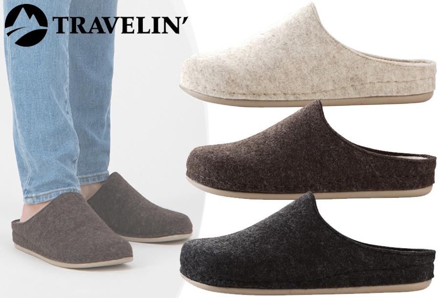 Goedkope pantoffels dames & heren van Travelin