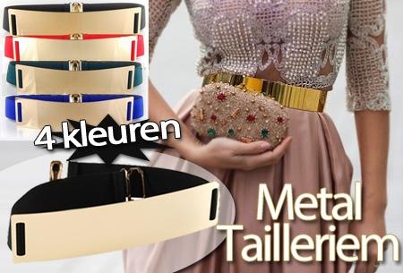 Tailleriem Metal in 4 kleuren t.w.v. €29,95 nu voor slechts €9,95!