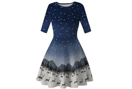 Foute kerstjurk | Originele jurk voor dames - 10 verschillende printjes C - Rendieren