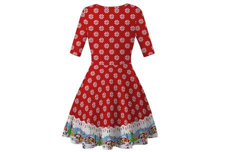 Foute kerstjurk | Originele jurk voor dames - 10 verschillende printjes J - Elfjes