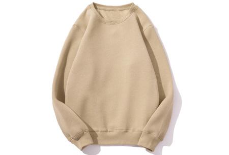 Superzacht huispak voor dames | Fleece gevoerde joggingbroek en/of sweater - in 5 kleuren Khaki - trui