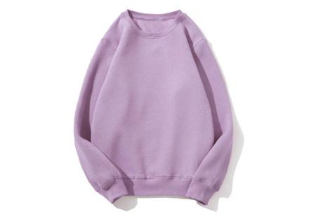 Superzacht huispak voor dames | Fleece gevoerde joggingbroek en/of sweater - in 5 kleuren Paars - trui