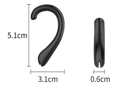 Hulpstukken voor mondkapjes | Handige clip of oorbeschermers voor optimaal comfort