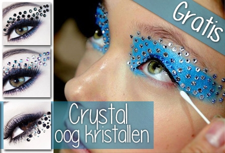 Crystal oog make-up t.w.v. €14,95 nu GRATIS!
