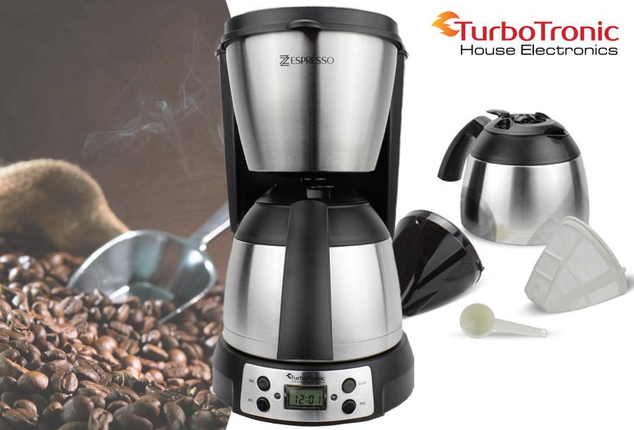 Goedkoop koffiezetapparaat met timer