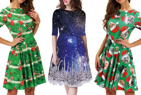 Foute kerstjurk | Originele jurk voor dames - 10 verschillende printjes