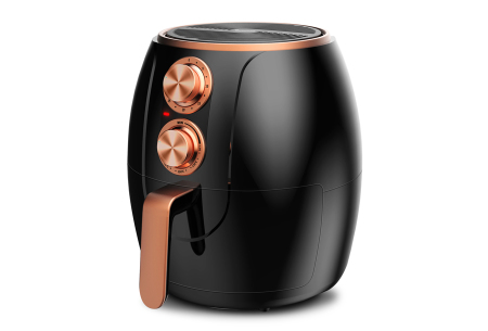 TurboAir Fryer van TurboTronic | Compacte hetelucht friteuse in 3 kleuren Zwart