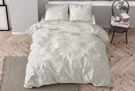 Flanellen dekbedovertrekken van Dreamhouse | Warme dekbedhoezen in 7 prints Caitlyn sand