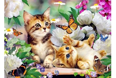 Diamond painting katten | Maak zelf de mooiste schilderijen  #3