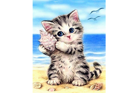 Diamond painting katten | Maak zelf de mooiste schilderijen  #14