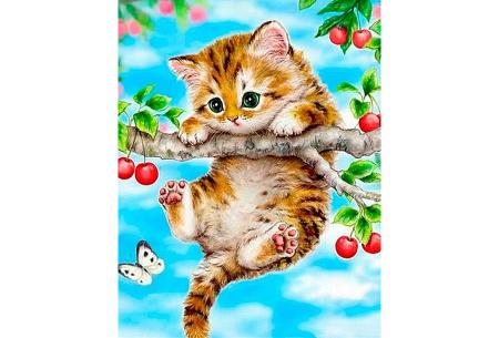 Diamond painting katten | Maak zelf de mooiste schilderijen  #15