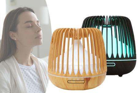 Luchtbevochtiger 500 ml | Aroma diffuser met ledlicht