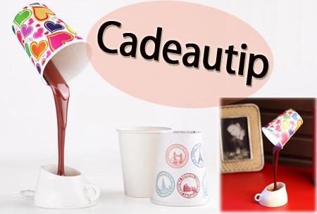 Koffiekop bureaulamp t w v 35 00 nu voor slechts 14 95 for Cadeau eigen huis