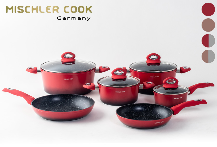 SALE - 10-delige pannenset van Mischler Cook