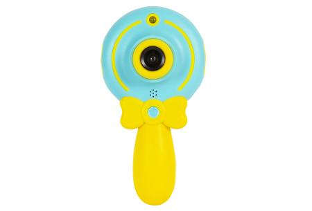 Digitale kindercamera's | Foto-, video-, of selfie camera in 2 kleuren  Selfie camera - blauw