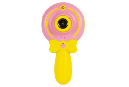 Digitale kindercamera's | Foto-, video-, of selfie camera in 2 kleuren  Selfie camera - roze
